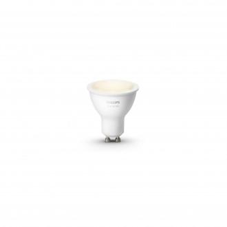 PHILIPS 8718699605513 | GU10 5,5W Philips spot LED fényforrás hue okos világítás 300lm 2700K szabályozható fényerő 46° CRI>80