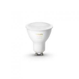 PHILIPS 8718699628673 | GU10 5,5W -> 50W Philips spot LED fényforrás hue okos világítás 350lm 2200 <-> 6500K szabályozható fényerő, állítható színhőmérséklet, Bluetooth CRI>80