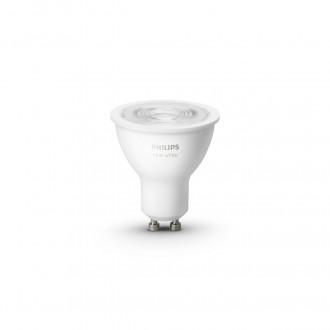 PHILIPS 8718699628697 | GU10 5,2W -> 57W Philips spot LED fényforrás hue okos világítás 400lm 2700K szabályozható fényerő, Bluetooth CRI>80