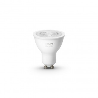 PHILIPS 8718699629311 | GU10 5,2W -> 57W Philips spot LED fényforrás hue okos világítás 400lm 2700K szabályozható fényerő, Bluetooth, 2 darabos szett CRI>80