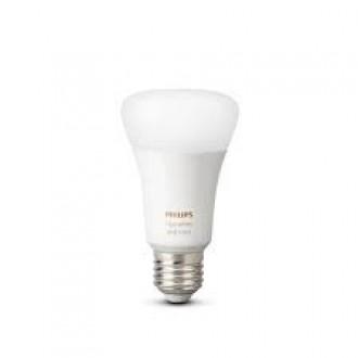 PHILIPS 8718699673109 | E27 9W -> 60W Philips normál A60 LED fényforrás hue okos világítás 806lm 2200 <-> 6500K szabályozható fényerő, színváltós, állítható színhőmérséklet, Bluetooth CRI>80