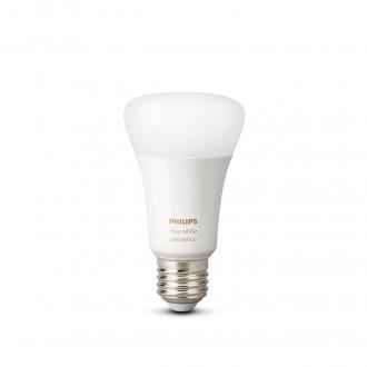 PHILIPS 8718699673147 | E27 8,5W -> 60W Philips normál A60 LED fényforrás hue okos világítás 806lm 2200 <-> 6500K szabályozható fényerő, állítható színhőmérséklet, Bluetooth CRI>80