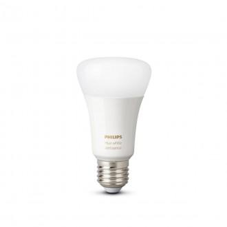 PHILIPS 8718699673369 | E27 8,5W -> 60W Philips normál A60 LED fényforrás hue okos világítás 806lm 2200 <-> 6500K szabályozható fényerő, állítható színhőmérséklet, Bluetooth, 2 darabos szett CRI>80