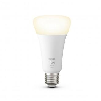 PHILIPS 8718699747992 | E27 15,5W -> 100W Philips normál A67 LED fényforrás hue okos világítás 1600lm 2700K szabályozható fényerő, Bluetooth CRI>80