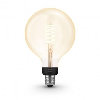 PHILIPS 8719514279131 | E27 7W -> 40W Philips nagy gömb G125 LED fényforrás hue okos világítás 550lm 2100K szabályozható fényerő, Bluetooth CRI>80