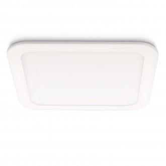 PHILIPS 59714/31/16 | Hydra Philips beépíthető lámpa szabályozható fényerő 221x221mm 1x LED 1280lm 2700K fehér