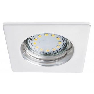 RABALUX 1052 | Lite Rabalux beépíthető lámpa 3 darabos szett 80x80mm 1x GU10 720lm 3000K IP44/40 fehér