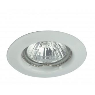 RABALUX 1087 | SpoRelight Rabalux beépíthető lámpa Ø80,5mm 80,5x80,5mm 1x MR16 / GU5.3 fehér