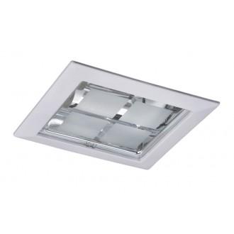 RABALUX 1131 | SpoOffice Rabalux beépíthető lámpa 230x230mm 2x E27 fehér