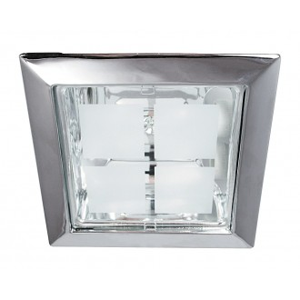 RABALUX 1150 | SpoOffice Rabalux beépíthető lámpa 230x230mm 2x E27 króm