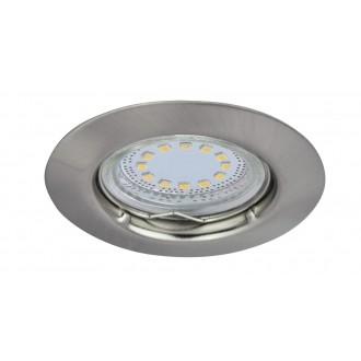 RABALUX 1163 | Lite Rabalux beépíthető lámpa 3 darabos szett Ø82mm 82x82mm 3x GU10 720lm 3000K IP44/40 szatén króm