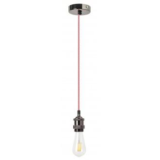 RABALUX 1416   Fixy Rabalux függeszték lámpa 1x E27 matt króm