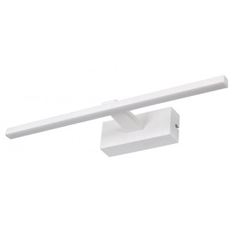 RABALUX 1448 | Albina Rabalux falikar lámpa 1x LED 450lm 4000K IP23 matt fehér