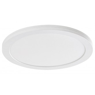 RABALUX 1489 | Sonnet Rabalux mennyezeti, beépíthető, ráépíthető LED panel kerek Ø225mm 1x LED 1500lm 4000K fehér