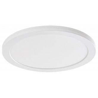 RABALUX 1490 | Sonnet Rabalux mennyezeti, beépíthető, ráépíthető LED panel kerek Ø330mm 1x LED 2800lm 4000K fehér