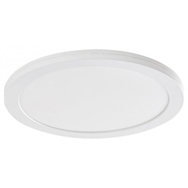 RABALUX 1491 | Sonnet Rabalux mennyezeti, beépíthető, ráépíthető LED panel kerek mozgásérzékelő Ø225mm 1x LED 1500lm 4000K fehér