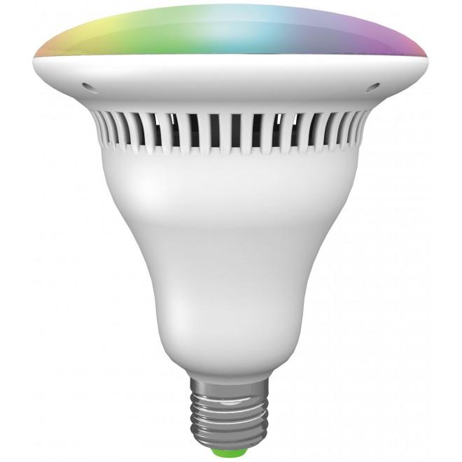 RABALUX 1502 | LED 11W Rabalux LED fényforrás okos világítás 1000lm 4000K hangszóró, szabályozható fényerő, színváltós kapcsoló