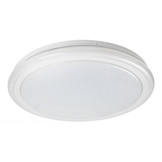 RABALUX 1510 | Leonie-RA Rabalux mennyezeti lámpa kerek távirányító szabályozható fényerő, állítható színhőmérséklet, színváltós 1x LED 2400lm 3000 <-> 6500K fehér, kristály hatás