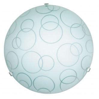 RABALUX 1843 | Ada Rabalux fali, mennyezeti lámpa 1x E27 fehér, áttetsző