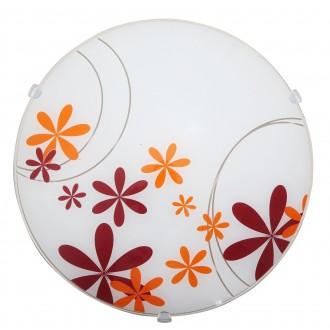 RABALUX 1896 | Iris Rabalux fali, mennyezeti lámpa 1x E27 többszínű, fehér