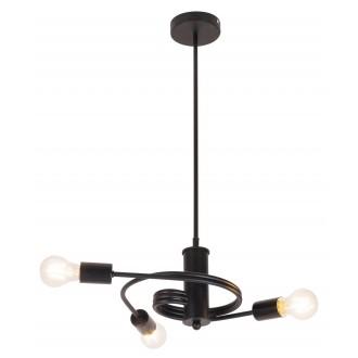 RABALUX 2097 | Carly Rabalux függeszték lámpa 3x E27 matt fekete
