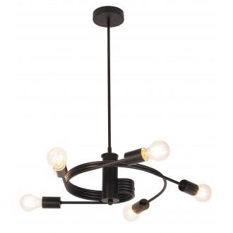 RABALUX 2098 | Carly Rabalux függeszték lámpa 5x E27 matt fekete
