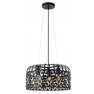 RABALUX 2158 | AlessandraR Rabalux függeszték lámpa 3x E27 matt fekete