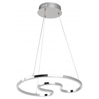 RABALUX 2190 | Melora Rabalux függeszték lámpa 1x LED 2400lm 4000K króm, fehér