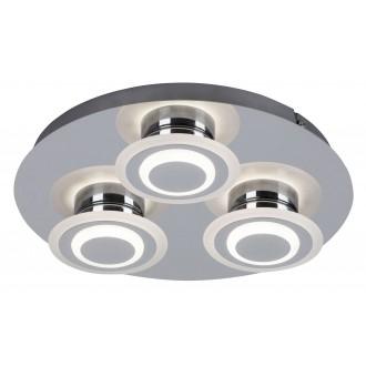 RABALUX 2258 | Demna Rabalux mennyezeti lámpa 3x LED 1080lm 4000K króm, fehér