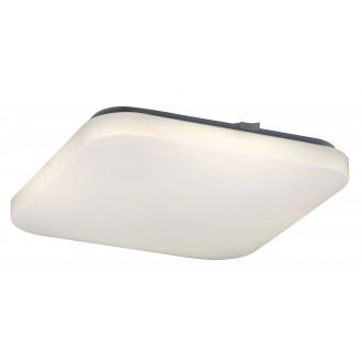 RABALUX 2287 | Rob-RA Rabalux mennyezeti lámpa négyzet 1x LED 2600lm 4000K fehér