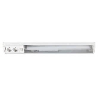 RABALUX 2322 | Bath Rabalux fali lámpa kapcsoló dugaljjal ellátott 1x G13 / T8 950lm 2700K fehér
