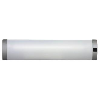 RABALUX 2328 | Soft Rabalux fali lámpa kapcsoló 1x G13 / T8 630lm 2700K ezüst
