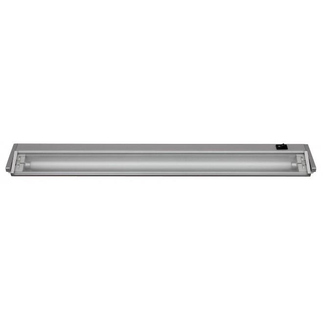 RABALUX 2365 | EasyLight Rabalux pultmegvilágító lámpa kapcsoló elforgatható alkatrészek 1x G5 / T5 820lm 2700K ezüst