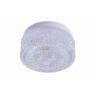 RABALUX 2435 | GraceR Rabalux fali, mennyezeti lámpa 1x E27 fehér, áttetsző