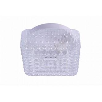 RABALUX 2436 | GraceR Rabalux fali, mennyezeti lámpa 1x E27 fehér, áttetsző