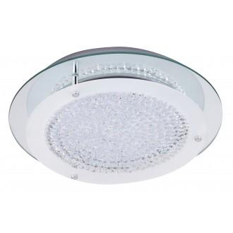 RABALUX 2447 | Marion Rabalux mennyezeti lámpa 1x LED 1620lm 4000K króm, fehér, átlátszó