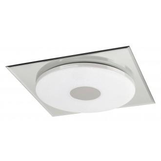 RABALUX 2489 | Toledo Rabalux mennyezeti lámpa 1x LED 1170lm 4000K króm, fehér, csillogó