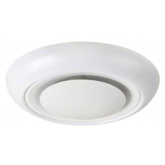 RABALUX 2492 | CalvinR Rabalux mennyezeti lámpa távirányító szabályozható fényerő, állítható színhőmérséklet, színváltós 1x LED 1400lm + 1x LED 3000 <-> 6000K fehér