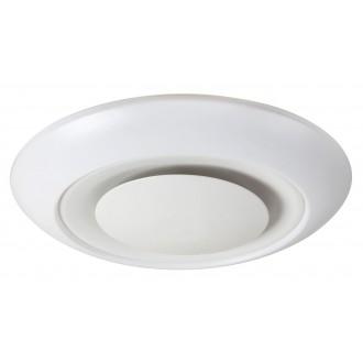 RABALUX 2493 | CalvinR Rabalux mennyezeti lámpa távirányító szabályozható fényerő, állítható színhőmérséklet, színváltós 1x LED 1900lm + 1x LED 3000 <-> 6000K fehér