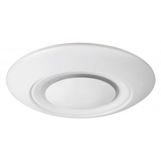 RABALUX 2494 | CalvinR Rabalux mennyezeti lámpa távirányító szabályozható fényerő, állítható színhőmérséklet, színváltós 1x LED 2800lm + 1x LED 3000 <-> 6000K fehér