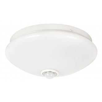 RABALUX 2499 | Seth Rabalux fali, mennyezeti lámpa mozgásérzékelő 1x LED 520lm 4000K fehér
