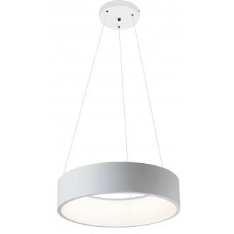 RABALUX 2509   Adeline Rabalux függeszték lámpa kerek 1x LED 1500lm 4000K matt fehér