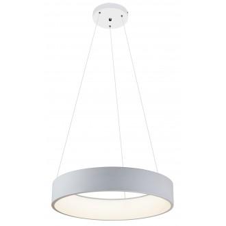 RABALUX 2510   Adeline Rabalux függeszték lámpa kerek 1x LED 2100lm 4000K matt fehér