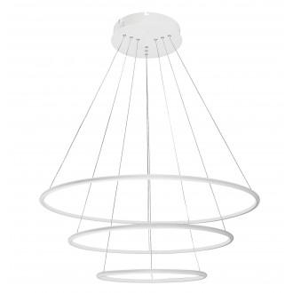 RABALUX 2545 | Donatella Rabalux függeszték lámpa 1x LED 5774lm 4000K króm, fehér