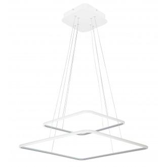 RABALUX 2546 | Donatella Rabalux függeszték lámpa 1x LED 4777lm 4000K króm, fehér
