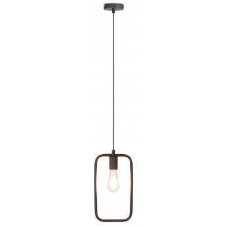 RABALUX 2567 | LeviR Rabalux függeszték lámpa 1x E27 fekete