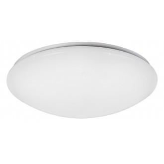 RABALUX 2637 | OllieR Rabalux mennyezeti lámpa távirányító állítható színhőmérséklet 1x LED 5900lm 2700 <-> 6500K fehér, csillogó