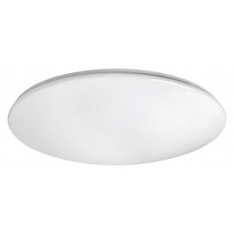 RABALUX 2639 | OllieR Rabalux mennyezeti lámpa távirányító szabályozható fényerő, állítható színhőmérséklet 1x LED 5900lm 2700 <-> 6500K fehér, csillogó