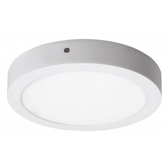 RABALUX 2656 | Lois Rabalux fali, mennyezeti LED panel kerek 1x LED 1400lm 4000K matt fehér, fehér