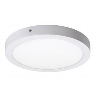 RABALUX 2657 | Lois Rabalux fali, mennyezeti LED panel kerek 1x LED 1700lm 4000K matt fehér, fehér